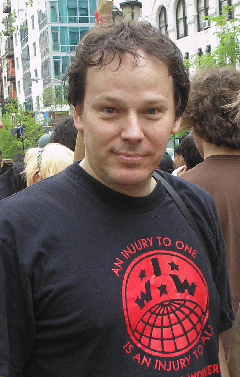 David Graever, Professor d'Antropologia a la  London School of Economics, anarquista i membre dels IWW (Industrial Workers of the World)