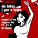 Suport a les vagues convocades els dies 1, 2 i 9 de març en defensa de l'educació pública.