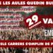 Embat davant la vaga educativa del 29 de novembre.